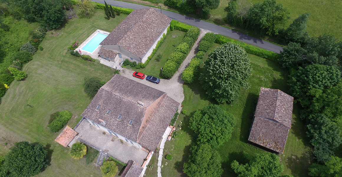 The Maison, Barn Cottage adjacent to the pool and the extensive grounds