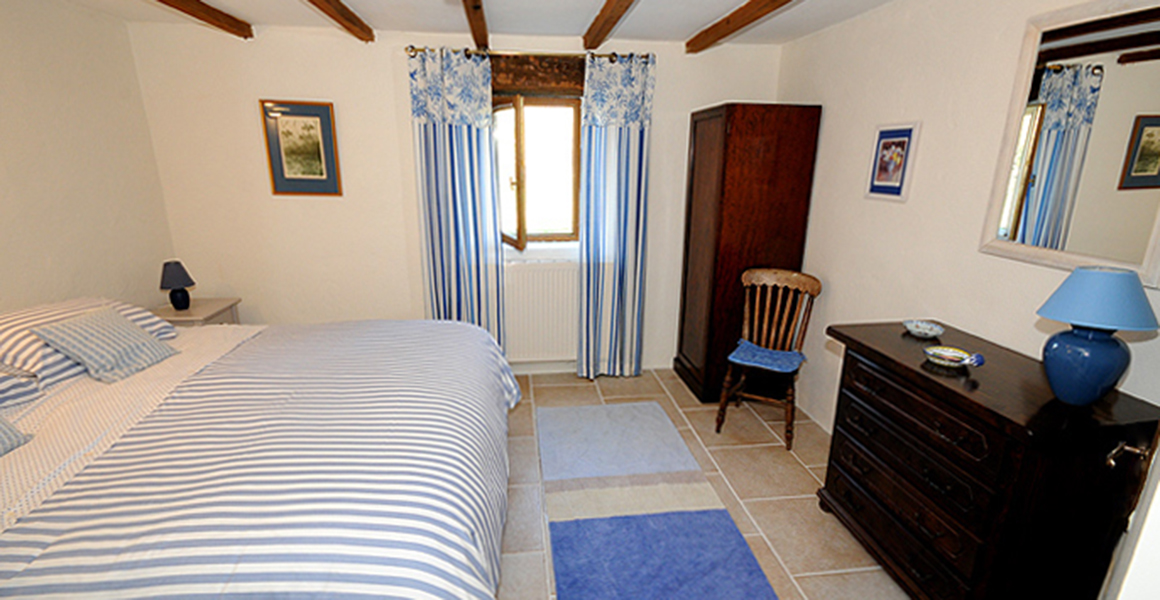 Cottage bedroom 3 as double